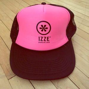 Izzy juice branded trucker mesh hat 80spink color!